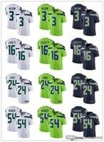 Wholesale football jerseys seattle resale online - Men Women Seattle Seahawks Youth Russell Wilson Marshawn Lynch Tyler Lockett Bobby Wagner Football Jerseys Navy Rush