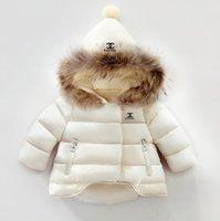 куртки для мальчиков оптовых-Бесплатная доставка 2019 новых мальчиков пальто детской одежды дети теплая куртка мальчиков пуховик верхняя одежда оптом и в розницу