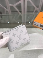 Wholesale best credit card wallet resale online - Wallet popular LQ095 European and American classic fashion style men and women s best choice free freight box Gift Bag
