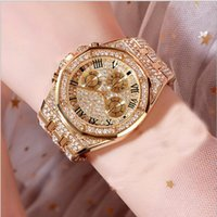 женщины смотрят большие циферблаты оптовых-женские часы с большим циферблатом мужские часы спортивные золотые алмазные наручные часы кварцевые повседневные часы высокого качества унисекс