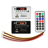 Wholesale remote mp3 player for sale - Group buy MP3 WMA Decoder Board MP3 Player Car Audio USB TF FM Radio Module Wireless Bluetooth V V Remote Control For Car Accessories