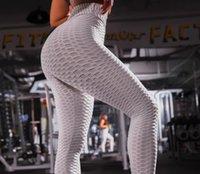 frauen trainieren kleidung großhandel-Laufende Frauen der Frauen gestreiftes in voller Länge Frauen-Yoga-Kleidungs-Übungs-Eignungs-Gamaschen-aktive dünne dünne Sport-Frauenkleider
