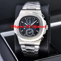 Wholesale watches waterproof stopwatch for sale - Group buy 2020 Watches Chronograph Stopwatch Mens Watches Waterproof Wristwatches Calendar VK64 Fashion Business Men Watch