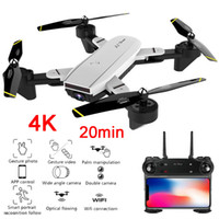 Wholesale best rc helicopters for sale - Group buy Best K Drone with camera P x Zoom Professional FPV Wifi RC Drones Altitude Hold Auto Return Dron Quadcopter RC Helicopter T191003