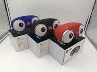 kuş hoparlörleri toptan satış-CH-M83 Karikatür Bluetooth Hoparlör Kablosuz Stereo Soundbox ile 2 * 10 W Hoparlörler Süper Bas Hifi Hoparlör TF USB Kuş Müzik Çalar