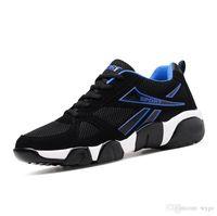 sapatos de qualidade aaa venda por atacado-2019 AAA de alta qualidade voando juventude selvagem moda respirável grife sapatos tênis sneakers tricolor calçado de corrida leve dos homens