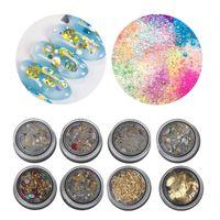 bolinhas de bolinhas de resina venda por atacado-Bolha de esferas Roda Gear Ultra Fino Metal Frame Preenchimento Nail DIY UV Resin Jewelry