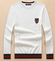 sweater sweater venda por atacado-De alta qualidade de Luxo novo logotipo Zip cardigan Suéteres dos homens para homens moda carta de manga comprida casal blusas blusas de pulôver solto dos homens