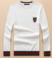 ingrosso uomini di maglione con zip-Di alta qualità Lusso nuovo logo Cardigan uomo Maglioni per uomo moda manica lunga lettera paio maglioni pullover maglioni pullover da uomo