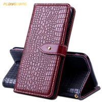 Wholesale crocodile leather case online – custom Wallet Crocodile Leather Case For Asus Zenfone ZE520KL ZE552KL Max ZC520TL Laser ZC551KL s Max ZC521TL Live ZB501KL Cover