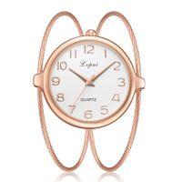 genf armbanduhren neue ankunft großhandel-Neue Ankunft Luxus Genf Edelstahlarmband Casual Herrenuhren Frauen Kleid Quarz Armbanduhren Relogio Feminino 2019 Uhr