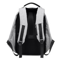 Wholesale tablet anti theft for sale - Group buy 15 inch Laptop Backpack USB Charging Anti Theft Backpack Men Travel Backpack Waterproof School Bag Male