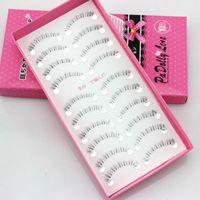 Wholesale fake lower lashes for sale - Group buy 10 Pairs False Eyelashes Lower Under Bottom Eye Lashes Extension Lashe Natural Fake False Eyelash Long Makeup Beauty Health