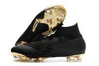 tacos de fútbol originales ronaldo al por mayor-Botas de fútbol Azul hielo Cleats de fútbol originales Mercurial Superfly V SX Neymar zapatos de fútbol de calidad superior V1Cristiano Ronaldo zapatos para exteriores x086