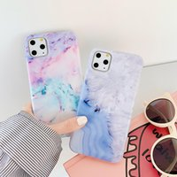 Wholesale squishy iphone case online – custom Marble Stone Gel Case for Apple iPhone s Plus s SE X XR XS Max Cases Black White Soft Squishy phone Case New cheap