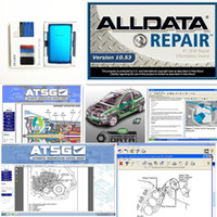 Wholesale heavy truck repair software resale online - 2019 Alldata newest V10 and Mitchell car repair data vivid workshop heavy truck in tb new hdd