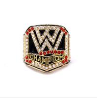 regalos de los pasillos al por mayor-2016 Correa de Lucha del Salón de la Fama Anillo de regalo del ventilador del anillo de alta calidad al por mayor Envío de la gota