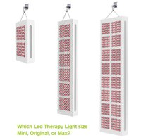 infrarot-anti-aging großhandel-300 Watt 900 Watt 2400 Watt Schmerzlinderung Anti Aging 660nm 850nm Rot Nahinfrarot LED Therapie Licht Schönheit Hautpflege Licht