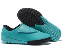futbol ayakkabıları kızlar toptan satış-Kutu ile Çocuklar Mercurial Buharları MV CR7 Futbol Ayakkabıları Erkek Futbol Chaussures Kızlar için Eğitim Çocuk Atletik Çocuk Sneakers Genç