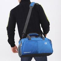женские сумочки для женщин оптовых-Travel Bag Unisex Sports Gym Large Capacity Fitness Training Duffle Bag 2019 Women Man Handbags Luggage Travel Organizer