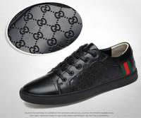 ingrosso coreano in vendita-vendita calda 2019 primavera e l'estate scarpe sportive da uomo in pelle coreana scarpe bianche scarpe casual da uomo in pelle traspirante marea G021