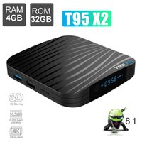 Wholesale android pc smart tv box online - 4GB GB Amlogic S905X2 Quad Core TV Box Android Smart Mini PC Boxes G Wifi Streaming Media Player TVbox