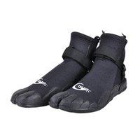 botas rapidas al por mayor-Yon Sub Hombre Mujer Botas de buceo de neopreno Antideslizante Zapatillas de surf de secado rápido Snorkel Zapatillas de piel de agua para vadeo Negro