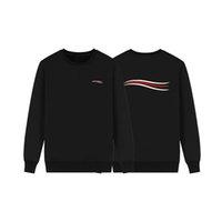ingrosso giacche nere per le donne-Design di lusso Mens Hoodies Uomini Donne Felpe Hip Hop del progettista del Mens Jackets Blu Bianco Nero Grigio Autunno Inverno Coat Dimensione M-XXL