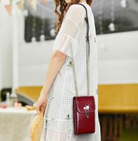 цепочка для денег оптовых-Женские сумки на ремне, цепочки на плечо из натуральной кожи, мини-сумки для мобильных телефонов, женские кошельки, сумки