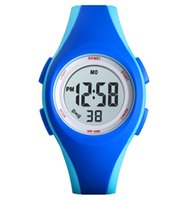 Wholesale china digital watches resale online - SKMEI China Cheap Kids Fashion Watch M Waterproof Sport Digital Wristwatch