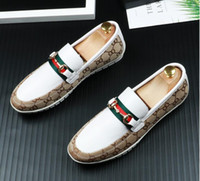 Wholesale designer mens driving shoes resale online - 2019 New arrival Men s Shoes Luxury designer Leather Casual Driving Oxfords Flats Shoes Mens Loafers Moccasins Italian Shoes for Men BM656