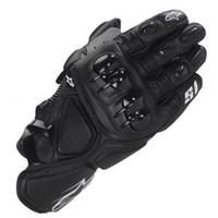 motosiklet eldivenleri kırmızı toptan satış-Sıcak S1 satış marka MOTO yarış eldiven Motosiklet eldiven / koruyucu eldiven / off-road eldiven Siyah / mavi / kırmızı / beyaz renk M L XL