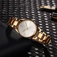 kızı gümüş için izle toptan satış-AAA Lüks Marka kadın Saatler Moda Modern İzle Bilezik Tasarımcı Gümüş Gül Altın Kuvars İzle Giyinmiş Kız Saatı