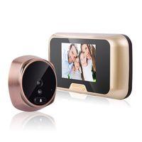 türkamera schloss großhandel-HD visuelle elektronische Katzenauge Türklingel nach Hause mobile Erkennung Überwachung Überwachungskamera Video Anting Türschloss Sicherheit