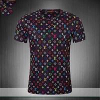 yüksek kaliteli giyim kadın artı boyutu toptan satış-1819ss kadın tulumlar İtalyan Marka yaz sıcak tarzı lüks dekorasyon marka yüksek kalite lady T-shirt kadın giyim artı boyutu wome