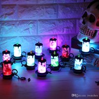 Wholesale halloween electronics for sale - Group buy Halloween Candles LED Electronic Lights Decoration Props Creative Personality LED Electronic Candles Desktop Decoration Party free DHL