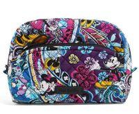 kozmetik çantası deseni toptan satış-Yeni desen Orta Kozmetik Kılıfları makyaj çantası nwt