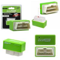 obd2 tuning box großhandel-Treiber Nitro OBD2 EcoOBD2 ECU Chip Tuning Box Stecker für BENZINE Auto Für Autos 15% Kraftstoff Sparen Sie mehr Power Dropshipping