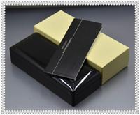 paquet d'approvisionnement achat en gros de-4 Styles De Luxe En Bois Stylo Boîte Avec Papier Manuel Livre Papeterie Fournitures De Bureau De Haute Qualité Cadeau Stylo Cas Pour MONTE Marque Stylos Emballage