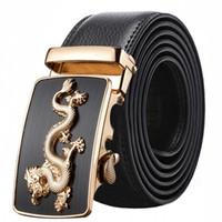 ingrosso cintura degli uomini cina-Cintura con fibbia automatica da uomo nuova cintura nuovi pantaloni di pelle moda per diffondere il mercato notturno China Dragon