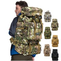 Wholesale outdoor sport military tactical resale online - 6styles L Camo Tactical Backpack Military Army Waterproof Hiking Camping Backpack Travel Rucksack Outdoor Sports Climbing Bag FFA1968