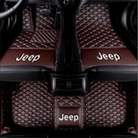 Wholesale luxury compasses resale online - Applicable to Jeep Compass car luxury surrounded by wear resistant carpet stitching mat