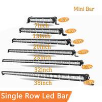 barra de luz delgada al por mayor-Delgada barra de luz LED de una hilera de 7