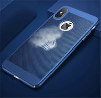 hohler rückseitiger iphone fall groihandel-Net Wärmestrahlung aushöhlen harter PC Plastik Hülle für iPhone 11 Pro Max X XR XS Max 6 7 8 Plus