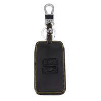 flip-taste alarm großhandel-Auto Leder Remote Key Case Cover Keychain Schlüssel Schutzhülle für Kadjar