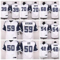 Wholesale elite football jersey white for sale - Dallas Cowboys Zack Martin  Free Anthony Hitchens Randy 78bc7c374