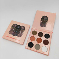 Wholesale pink eyeshadow colors for sale - Group buy In stock New The Warrior II The Tribe Colors Eye Shadow Shimmer Matte Easy to Wear eyeshadow