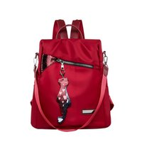Wholesale stylish backpack bag for women for sale - Group buy Women Large Capacity Simple Stylish Waterproof Student Bag Backpack new anti theft Women high quality backpack for travel Mar