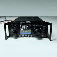 transceptor hf al por mayor-Xiegu G90 Shortwave Radio Outdoor Version 0.5-30MHz 20W HF Transceiver con salida IF, SDR portátil HF Transceptor SSB / CW / AM