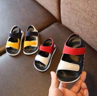 Wholesale new pattern children shoes resale online - Kids Baby comfortable sandals summer new boy girls beach shoes kids casual sandals children fashion sport sandals